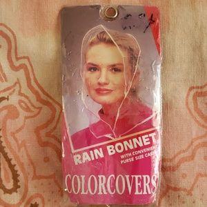 1997 Rain Bonnet/ Rain Hat/ Colorcovers